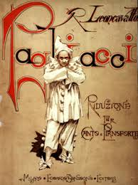 Original Flyer of the opera Pagliacci