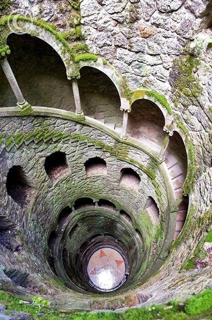 The Initiation Well, in the town of Sintra