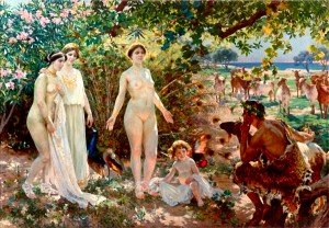 The Judgement of Paris, 1904   by Enrique Simonet