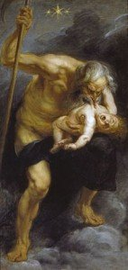Saturn Devouring His Son (1636) by Peter Paul Rubens