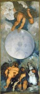 Jupiter, Neptune and Pluto - Caravaggio (1597/1600)