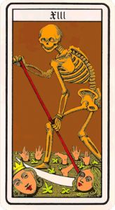 Oswald Wirth Tarot XIII - No Name