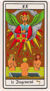 The Judgement - Oswald Wirth Tarot XX