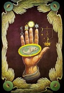 Hand of the Philosopher', or the 'Hand of the Mysteries'