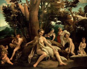 Leda and the Swan - Correggio